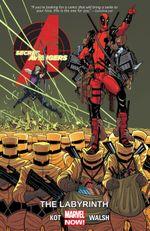 Couverture The Labyrinth - Secret Avengers (2014), tome 2