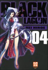 Couverture Black Lagoon, tome 4