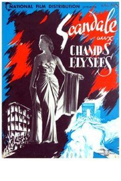 Affiche Scandale aux Champs-Élysées