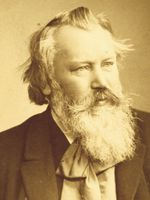 Photo Johannes Brahms