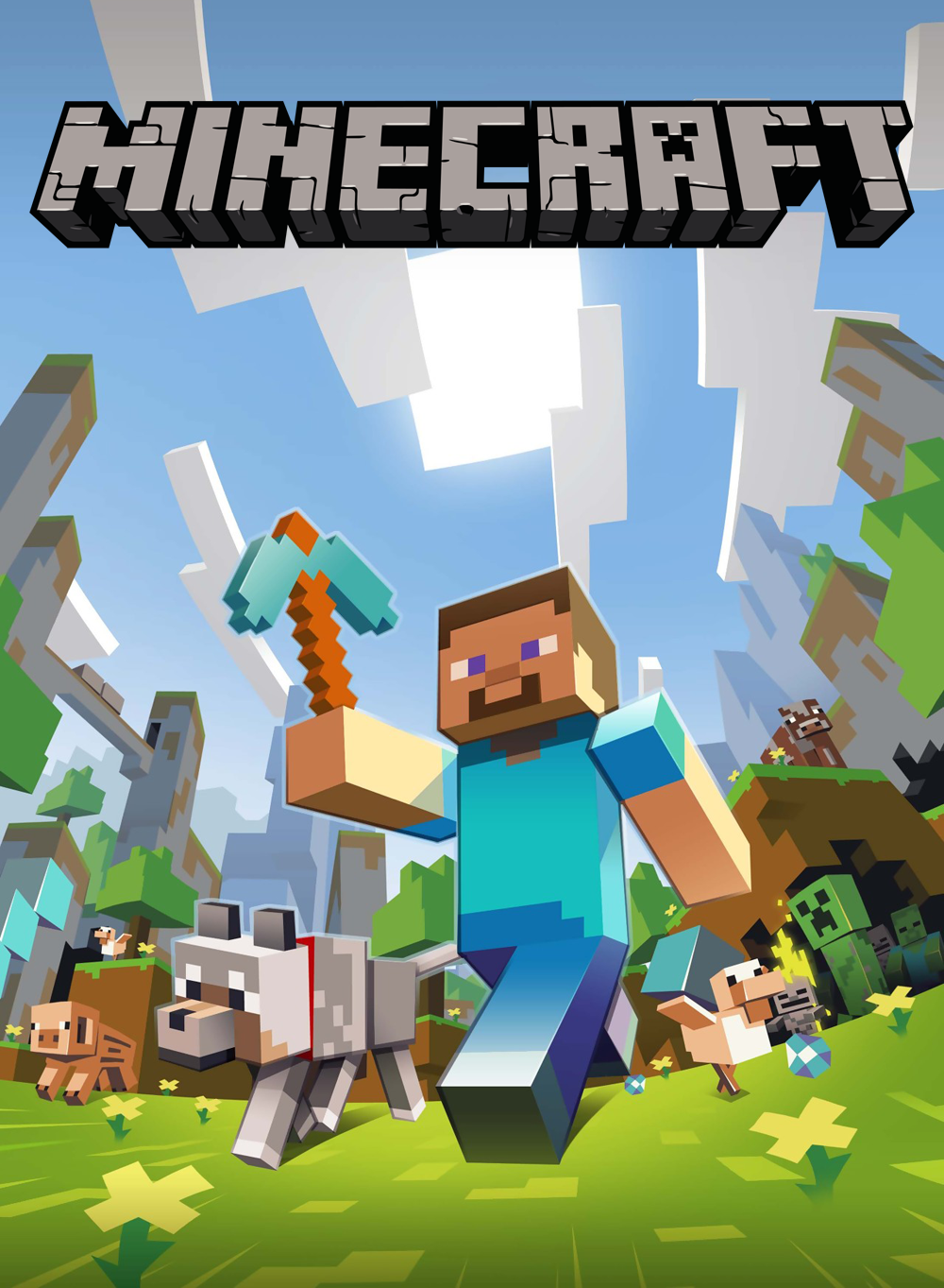 Affiches posters et images de minecraft 2011 senscritique - Jeux video de minecraft ...