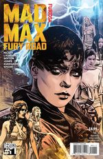 Couverture MAD MAX: FURY ROAD – FURIOSA #1