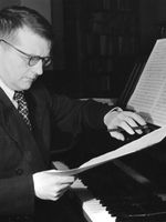 Photo Dmitri Dmitrievich Shostakovich