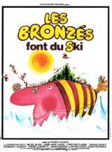 Affiche Les Bronzés font du ski