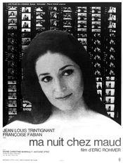 Affiche Ma nuit chez Maud