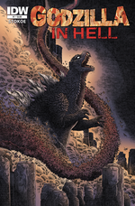 Couverture Godzilla in Hell