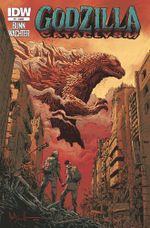 Couverture Godzilla : Cataclysm