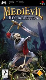 Jaquette MediEvil Resurrection