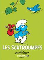 Couverture 1967-1969 - Les Schtroumpfs : L'Intégrale, tome 2