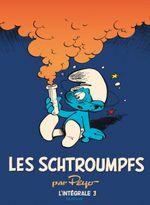 Couverture 1970-1976 - Les Schtroumpfs : L'Intégrale, tome 3