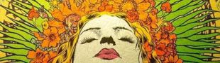 Cover Les années psychédéliques (1965-1972) : Rétrospective et hommage à une génération à l'étonnante créativité.