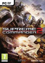 Jaquette Supreme Commander 2
