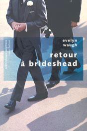Couverture Retour à Brideshead