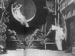 Affiche Au clair de la lune ou Pierrot malheureux