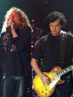 Logo Jimmy Page & Robert Plant