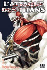 Couverture L'Attaque des Titans, tome 3