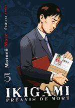 Couverture Ikigami - Préavis de mort - Tome 5