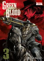 Couverture Green Blood, tome 3