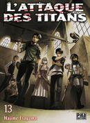 Couverture L'Attaque des Titans, tome 13