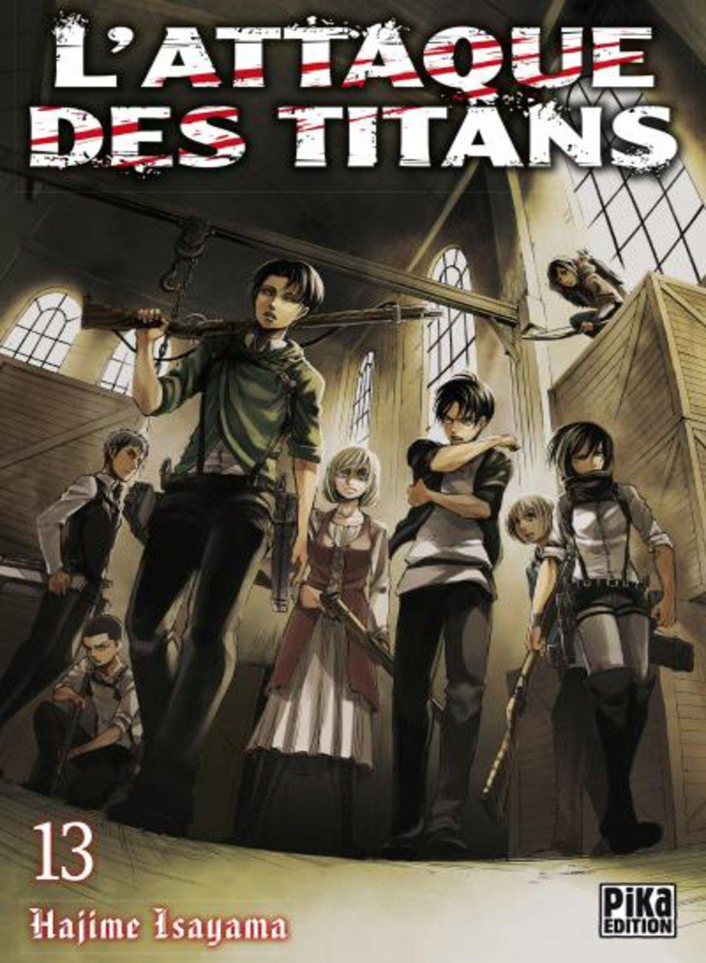 L'Attaque des Titans, tome 13 - Hajime Isayama - SensCritique