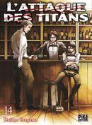 Couverture L'Attaque des Titans, tome 14