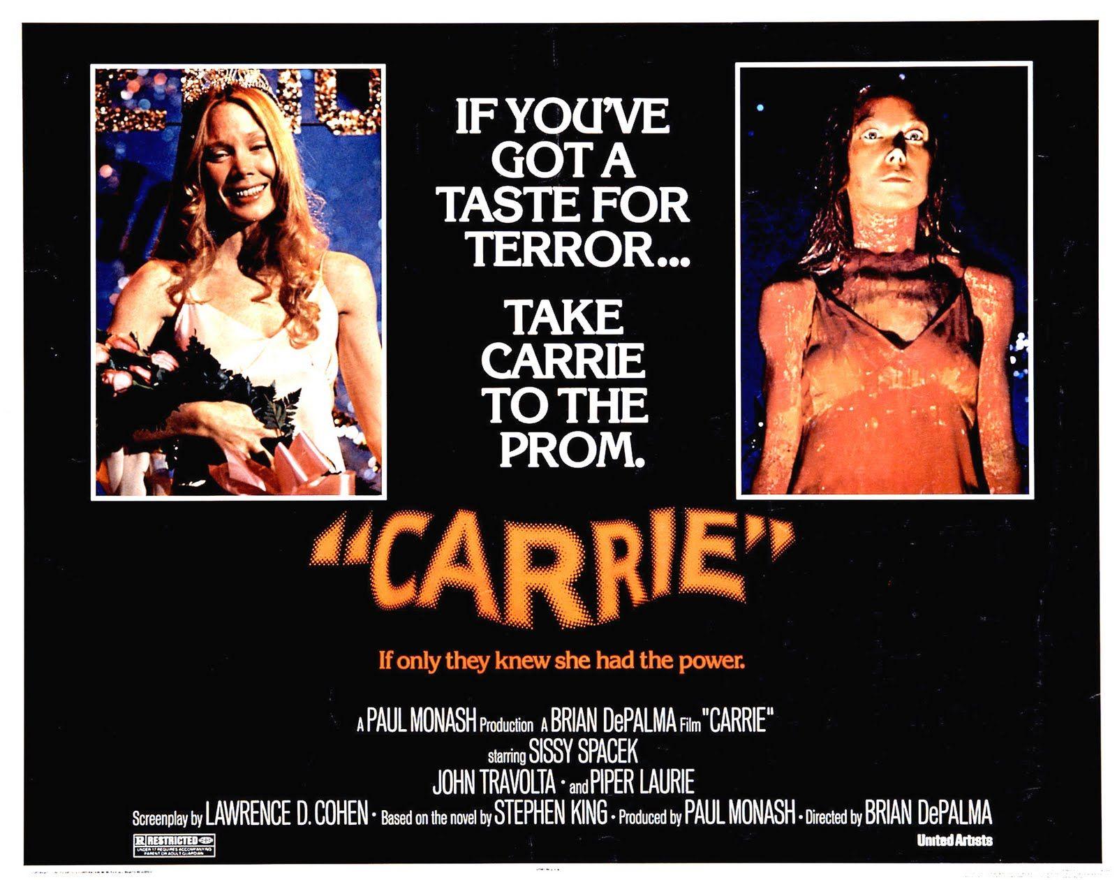Affiches Posters Et Images De Carrie Au Bal Du Diable 1976