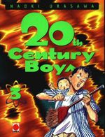 Couverture 20th Century Boys, tome 3