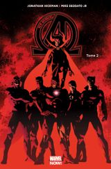 Couverture Infinity - New Avengers (2013), tome 2