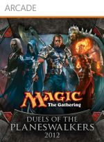 Jaquette Magic : The Gathering - Duels of the Planeswalkers 2012