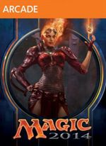 Jaquette Magic : The Gathering - Duels of the Planeswalkers 2014