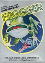 Jaquette Frogger (1981)