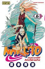 Couverture Naruto, tome 6