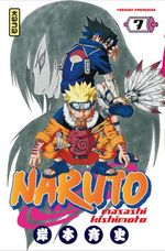 Couverture Naruto, tome 7
