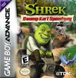 Jaquette Shrek : Swamp Kart Speedway