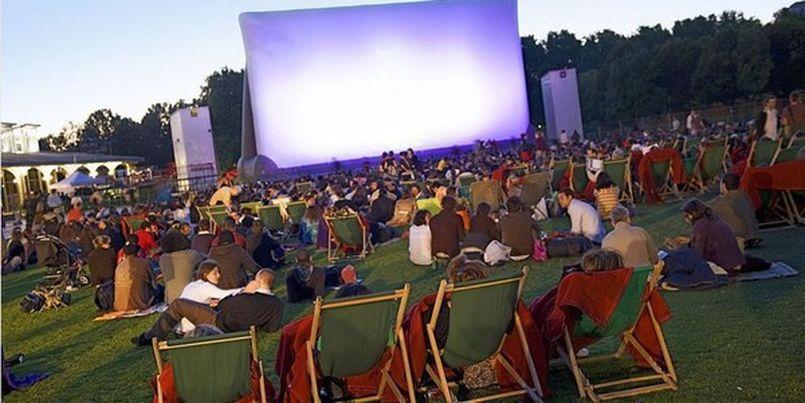 Illustration Cinéma plein air à la Villette à Paris !