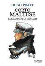 Couverture Corto Maltese. La ballade de la mer salée