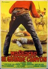 Affiche Massacre au Grand Canyon