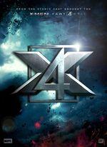 Affiche X-Men/Fantastic Four Crossover