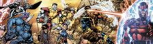 Cover X-MEN et autres Mutants...