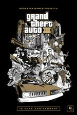 Jaquette Grand Theft Auto III : 10th Anniversary Edition