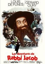 Affiche Les Aventures de Rabbi Jacob