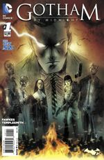Couverture Gotham by Midnight