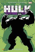 Couverture 1991 - Hulk : Intégrale, tome 6