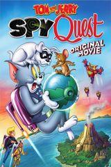 Affiche Tom et Jerry : Mission Espionnage