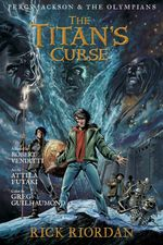 Couverture The Titan's Curse Graphic Novel - Percy Jackson, Tome 4