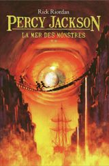 Couverture La Mer des monstres - Percy Jackson, tome 2