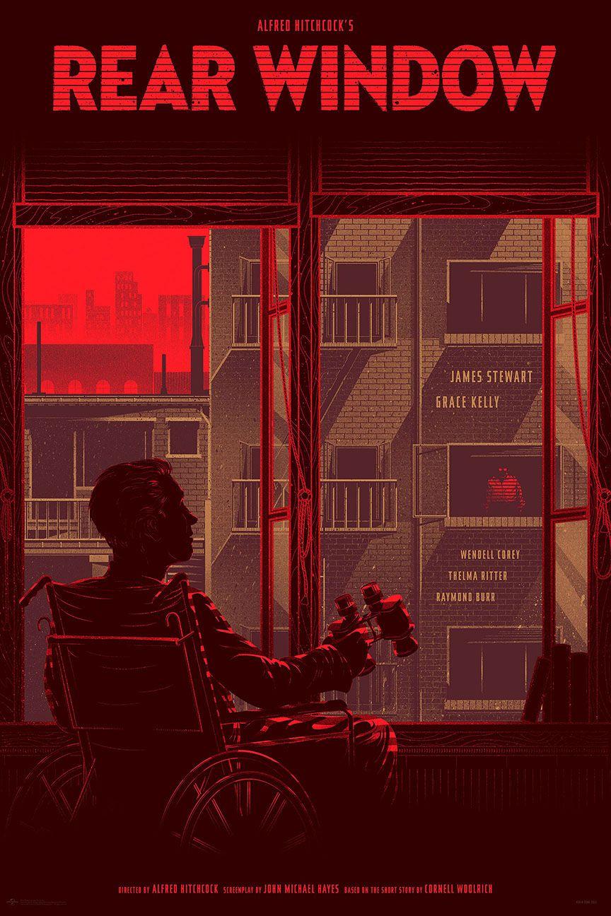 Affiches posters et images de fen tre sur cour 1954 for Fenetre sur cour film