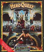 Jaquette HeroQuest : Return of the Witch Lord