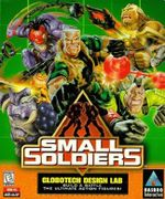 Jaquette Small Soldiers : Globotech Design Lab