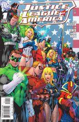 Couverture Justice League of America (2006 - 2011)